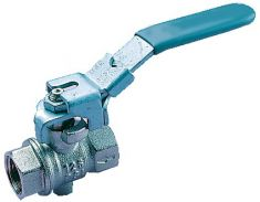 Brass Ball Valve (Exhausting) Lockable Lever (93)