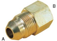 Inch OD x OD Straight Reducing Connector 340352