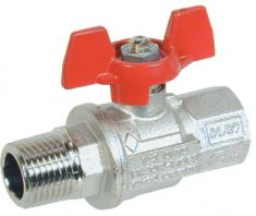 MF Brass Ball Valve T Handles