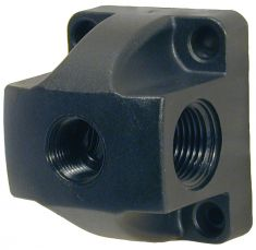 Wall Terminal Block 3/8 Outlet 2x1/2 BSP R243
