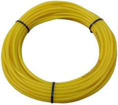 Yellow Polyurethane OD Tube Metric 25 Mtr Coil